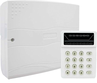 defender 8 zones intruder alarm rh defender com my Fire Alarm Wiring Diagram Home Alarm System Wiring Diagram